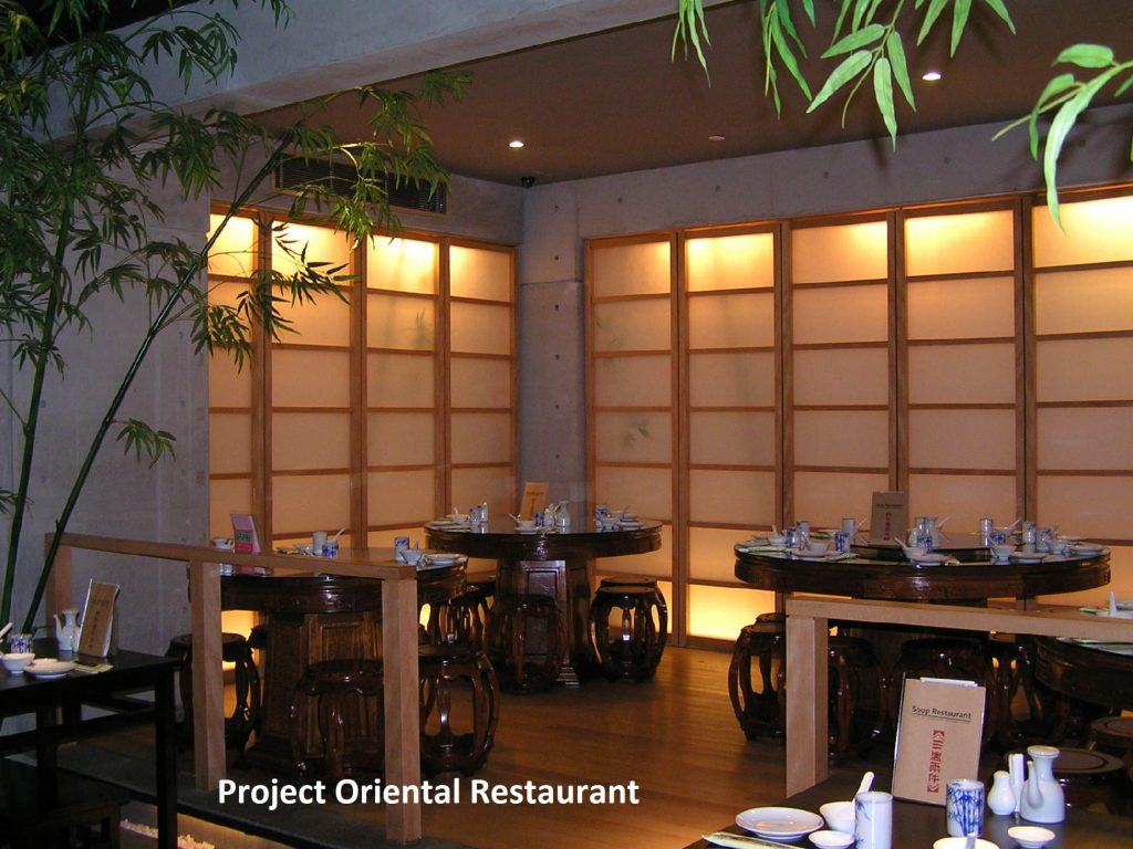 Lumasite Project Oriental Restaurant