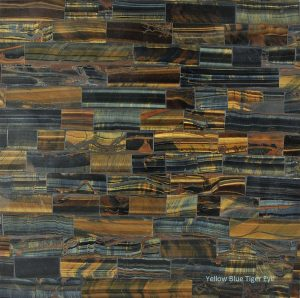 Material Yellow-Blue Tiger Eye